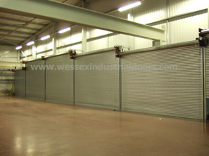 UK Industrial Roller Shutter Doors Manufacturer