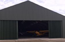 New Aircraft Hangar Doors at Glorious Goodwood