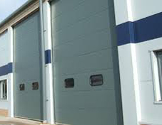 Up And Over Industrial Doors For Easy Access
