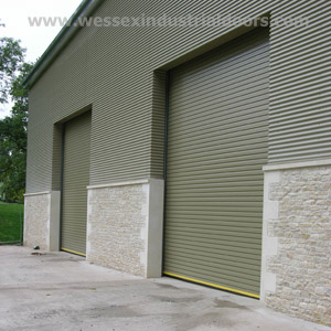 Insulated Industrial Roller Shutter Doors