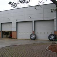 Industrial Electric Garage Doors