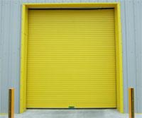 Electric or Manual Industrial Roller Shutters
