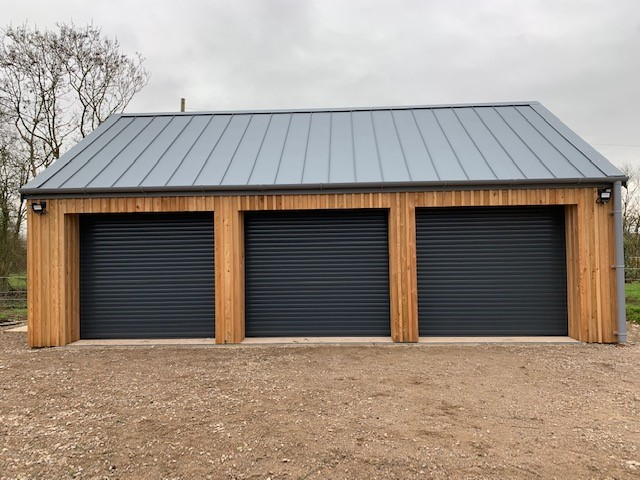Insulated Garage Doors Outside