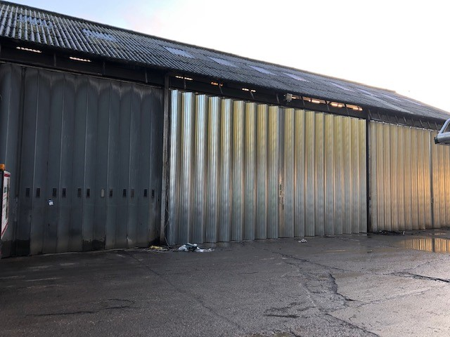Replacement slider shutters for a Warehouse