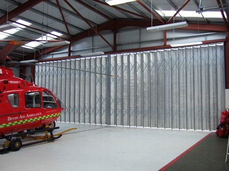 Devon-Air-Ambulance-Aircraft-Hangar-Doors