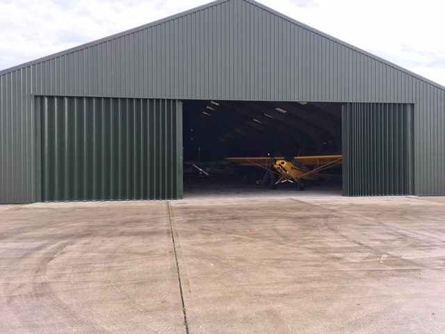 Goodwood Aircraft Hangar doors