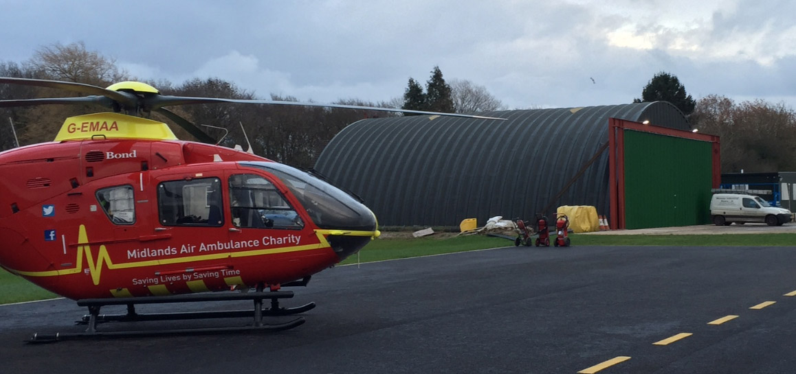 Midlands-Air-Ambulance-Aircraft-Hangar-Wessex