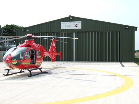 Somerset-Air-Ambulance-Aircraft-Hangar-Doors